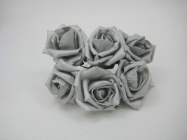 Pearlised Cottage Rose and rose buds