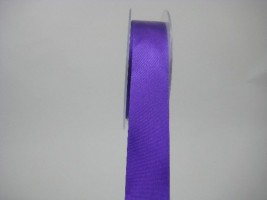 RS25PP 25 MM X 22.5 METRES SATIN RIBBON IN PURPLE- IF QUANTITY IS MORE THAN 5 ROLLS PAY £1.59 A ROLL