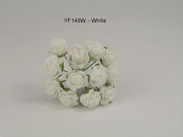 YF148W  MINI TEA ROSE IN WHITE