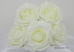 YF159 Large 9cm Open Rose