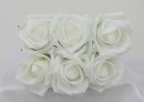 YF43 Quality 6cm Cottage Rose