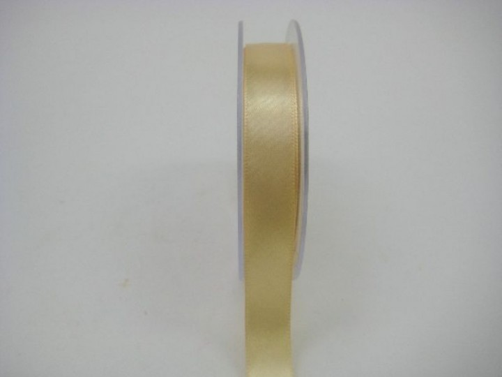 15 MM X 22.5 METRES SATIN RIBBON IN GOLD IF QUANTITY IS MORE THAN 10 ROLLS PAY £1.05 A ROLL