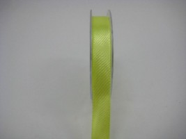 15 MM X 22.5 METRES SATIN RIBBON IN LIME- IF QUANTITY IS MORE THAN 10 PAY £1.05 A ROLL