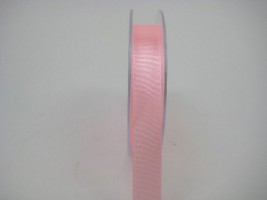 15 MM X 22.5 METRES  SATIN RIBBON IN LIGHT CORAL- IF QUANTITY IS MORE THAN 10 PAY £1.05 A ROLL