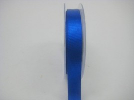 15 MM X 22.5 METRES SATIN RIBBON IN ROYAL BLUE- IF QUANTITY IS MORE THAN 10 ROLLS PAY £1.05 A ROLL