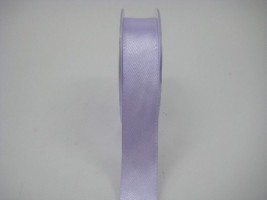 RS25IL 25 MM X 22.5 METRES SATIN RIBBON ICED LILAC- IF QUANTITY IS MORE THAN 5 ROLLS PAY £1.59 A ROLL