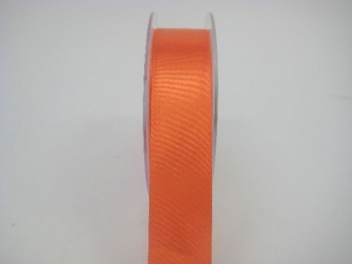 RS25 25 MM X 22.5 METRES SATIN RIBBON IN ORANGE- IF QUANTITY IS MORE THAN 5 ROLLS PAY ONLY £1.59 PER ROLL