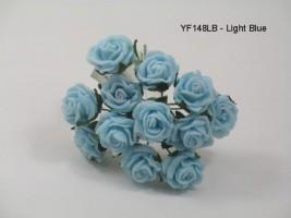 YF148LB  MINI TEA ROSE IN LIGHT BLUE