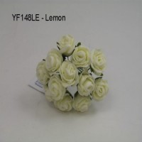 YF148LE  MINI TEA ROSE IN LEMON