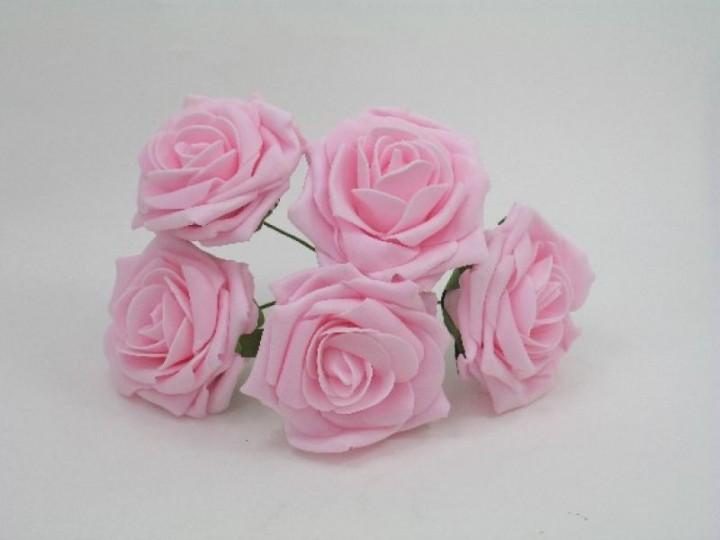 YF159BBP  OPEN ROSE IN BRIGHT BABY PINK