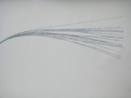 YF162SL LONG STEM GLITTER BRANCH IN SILVER