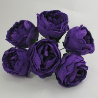 YF168PP  PEONY IN CADBURYS PURPLE COLOURFAST FOAM