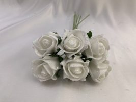 Glittered White